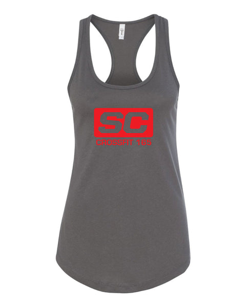 SC165 Ladies  Dark Grey Tank