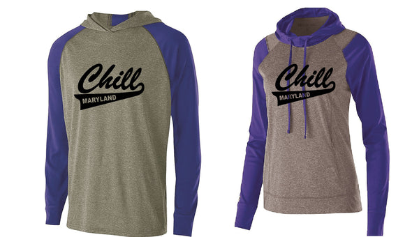 MD CHILL Dry Fit Long Sleeve w/Hood