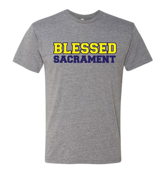 Blessed Sacrament Grey T- Shirt