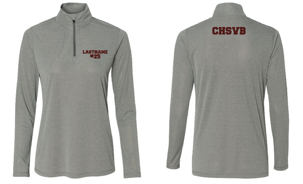 Concord Volleyball Junior Varsity 1/4 Sleeve Zip up