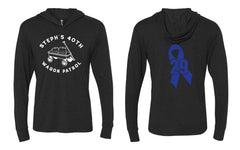 Stephs 40th Long Sleeve Tee with Hood