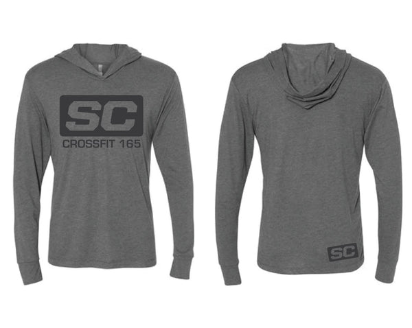 SC165 Long Sleeve Hooded Tee