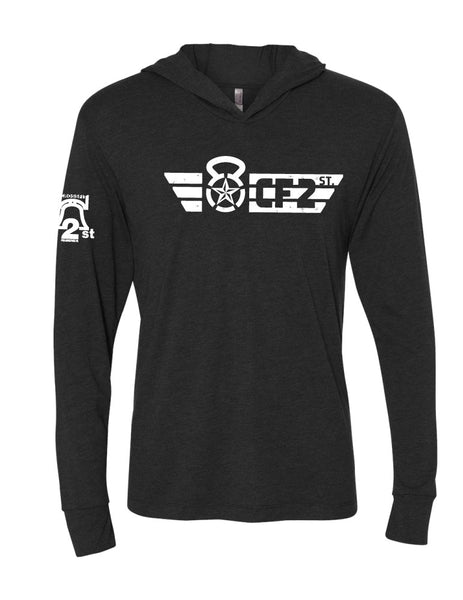 CF2ST Triblend Long sleeve tee with Hood