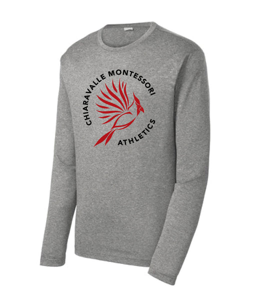 CMA- Heather Contender Long Sleeve Tee- Adult