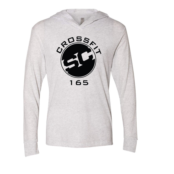 SC 165 Long Sleeve Hooded Triblend Tee