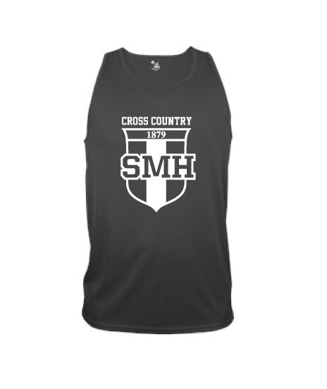 SMH-Mens Dry Fit Running Tank