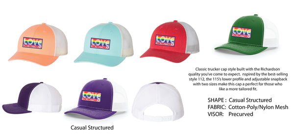 Love One Another Trucker Hat