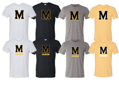 Moorestown Logo Tee-Youth & Adult