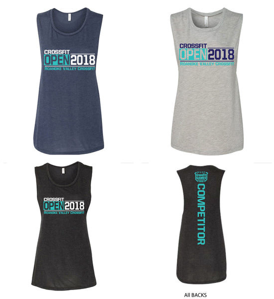 RVCF OPEN Womens Muscle  Tank