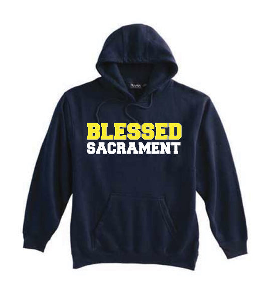 Blessed Sacrament Navy Sweatshirt