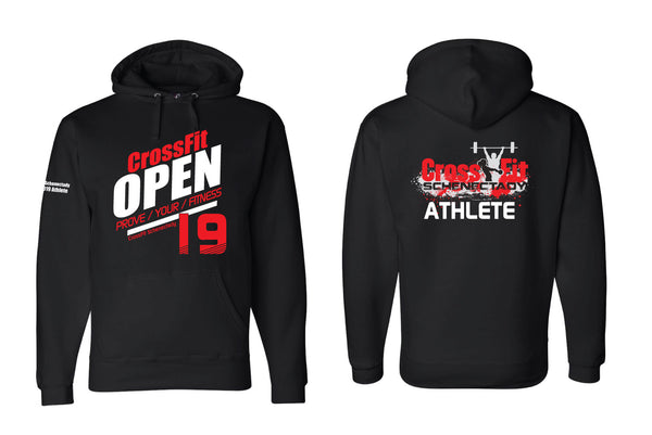 CFS Open Thick Pullover Hooded Sweatshirt