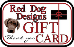 Red Dog Gift Card