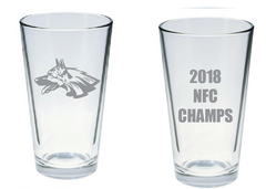NFC CHAMPS PINT GLASS