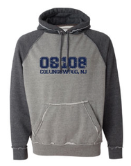 "Vintage ""08108"" Collingswood Hooded Sweatshirt"