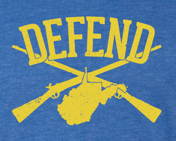 "Defend West Virginia ""State"" Unisex Tank"