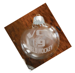 VCU Field Hockey Holiday Ornament