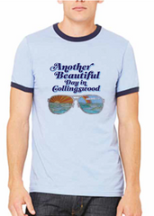 Another Beautiful Day-Ringer Tee