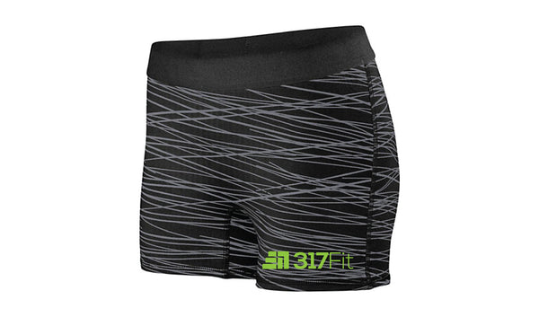 CF317 Womens Compression Shorts