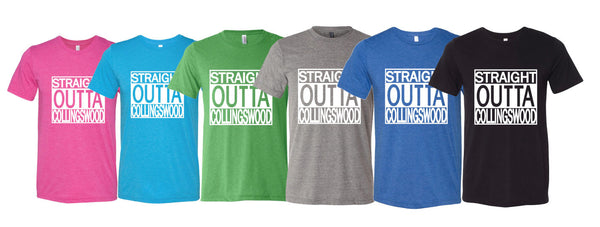 """STRAIGHT OUT OF COLLINGWOOD"" T- Shirt"