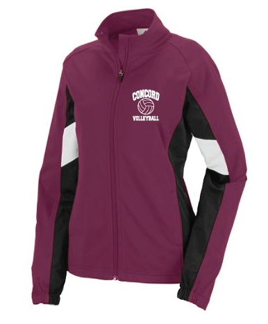 Concord Volleyball  Warm Up Jacket