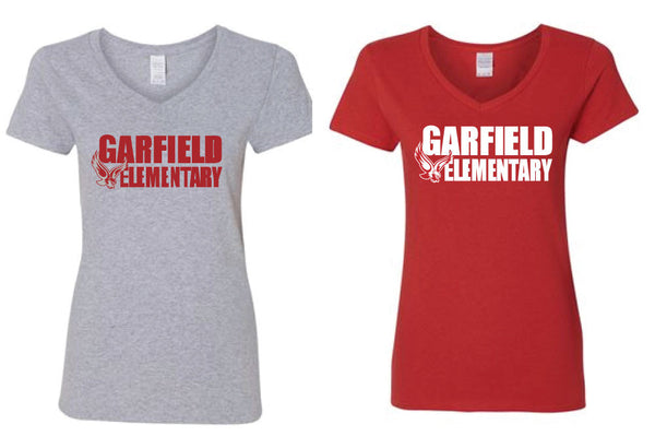 Garfield Womens V-Neck