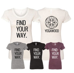 GB-Find Your Way Tri-Blend Ladies Tee