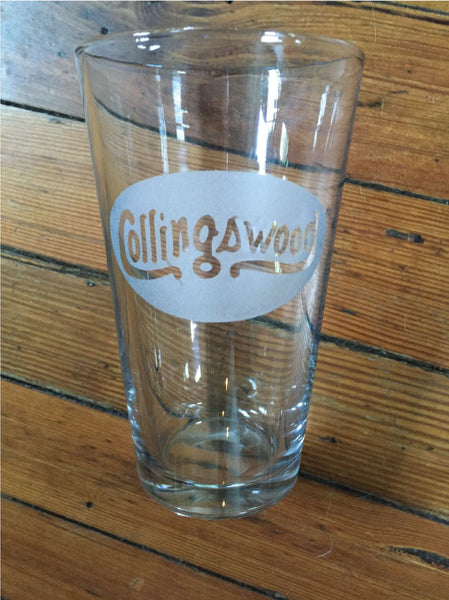 Collingswood Pint Glass