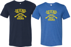 "Defend West Virginia ""Classic"" Tee Unisex Cut"