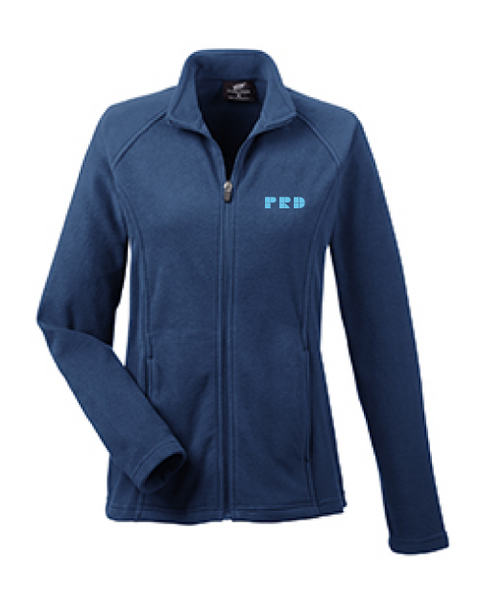 PRD Women's Cool & Dry Full Zip Microfleece