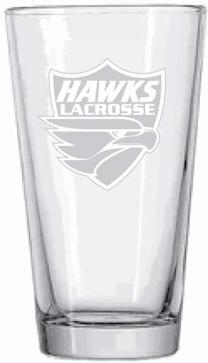 HT Lax Etched Pint Glass