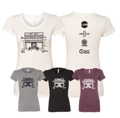 GB-Grant Building Tri-Blend Ladies Tee