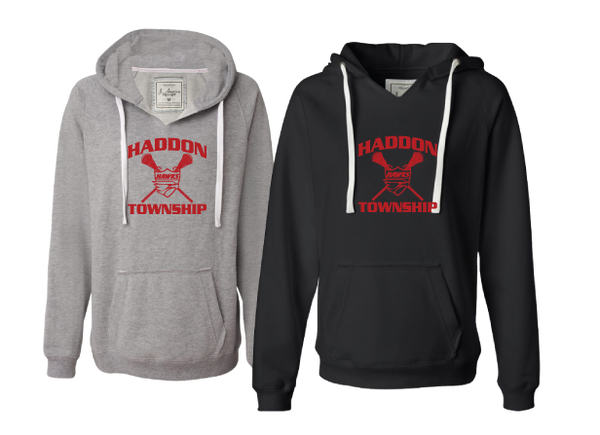 HT Lax Womens V-Neck Hoodie