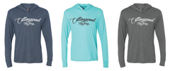 Collingswood Script Hooded Long Sleeve Pullover