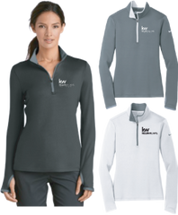 KW Nike Ladies Dri-FIT Stretch 1/2-Zip