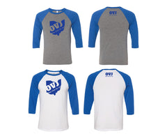 OVJ Outline Baseball Tee