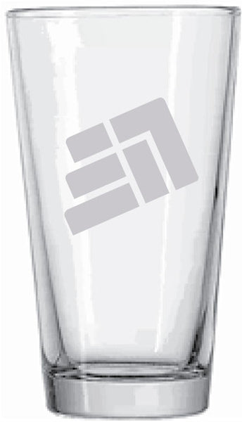 CrossFit 317 Etched Pint Glass