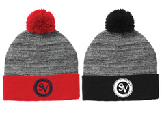 SVE Heather Pom Pom Beanie