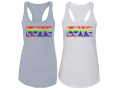 Collingswood-Love One Another Racerback Tank