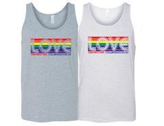 Collingswood-Love One Another Unisex Tank