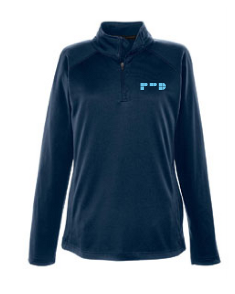PRD Women's Stretch Tech-Shell® Quarter-Zip