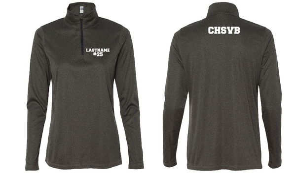 Concord Volleyball Varsity 1/4 Sleeve Zip up