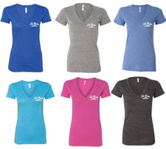 La Costa Ladies Deep V Tee Shirt