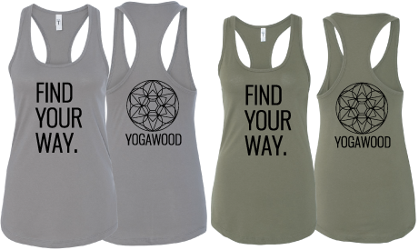 GB-Find Your Way Racerback Tank