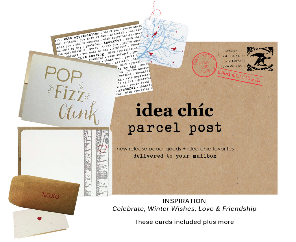 The Idea Chíc Winter Parcel Post Contents & Inspiration