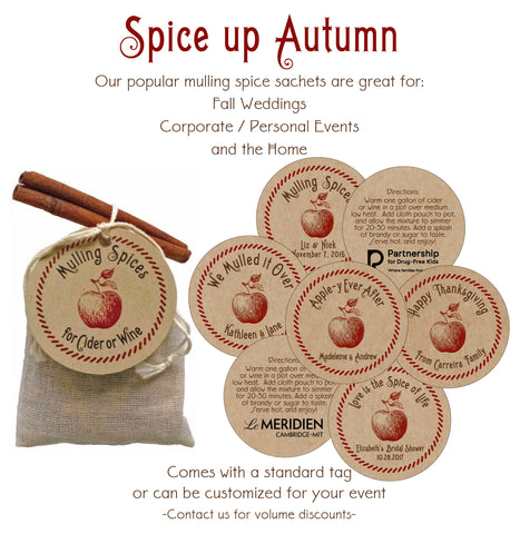 🍎 Spice Up Fall Weddings, Events & Home!