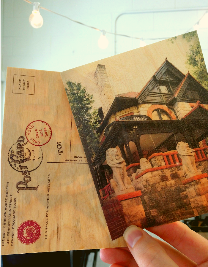 The Molly Brown House Museum Postcards Updated to Reflect Restoration