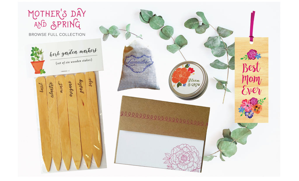 Mother S Day Gift Ideas Spring And Floral Stationery Collection