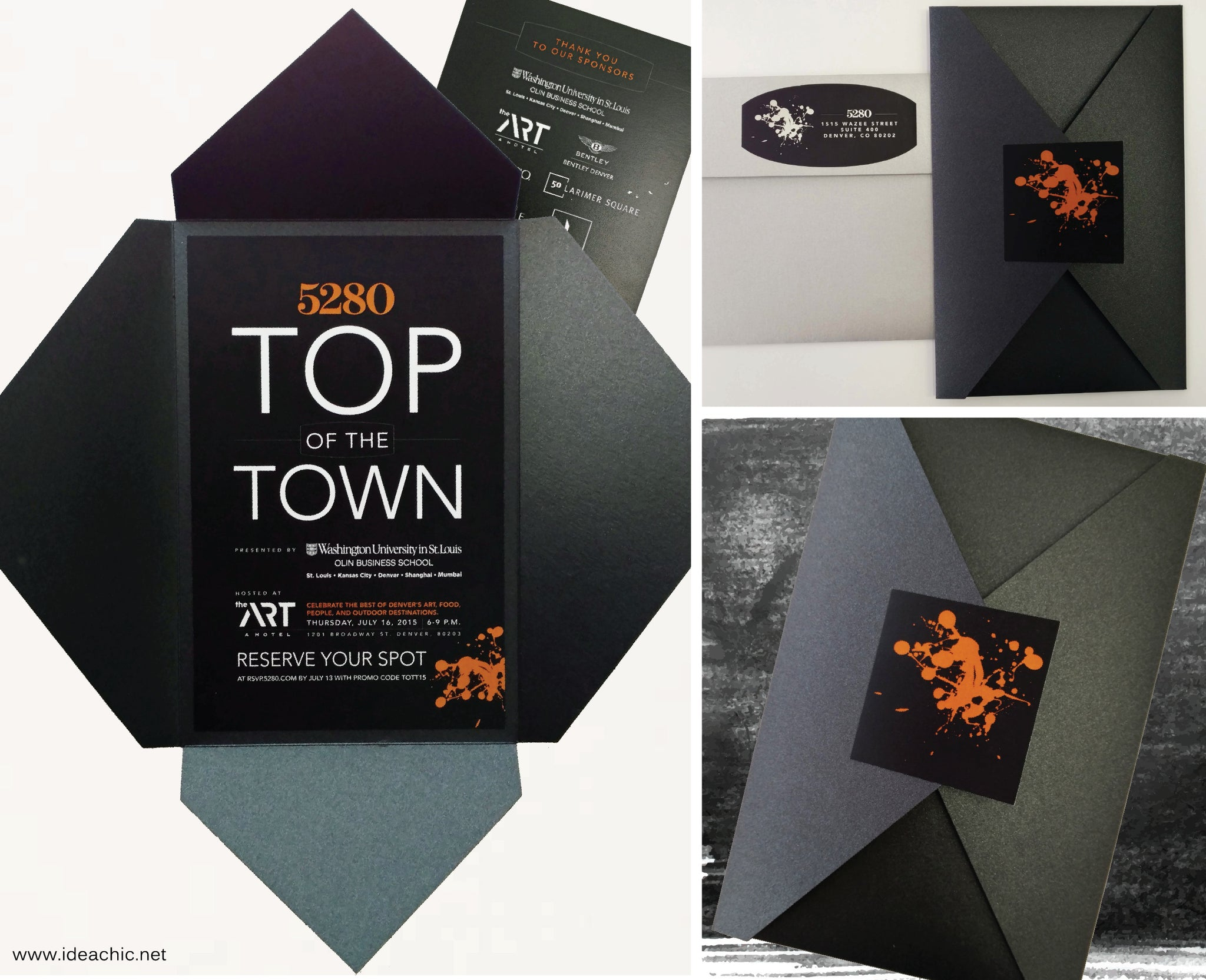 5280 Top of Town Invitation