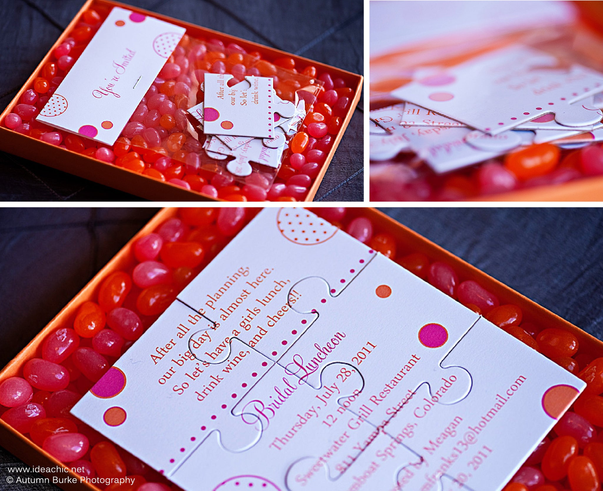 Custom Design | Invitations, Stationery, Packaging | Idea Chíc
