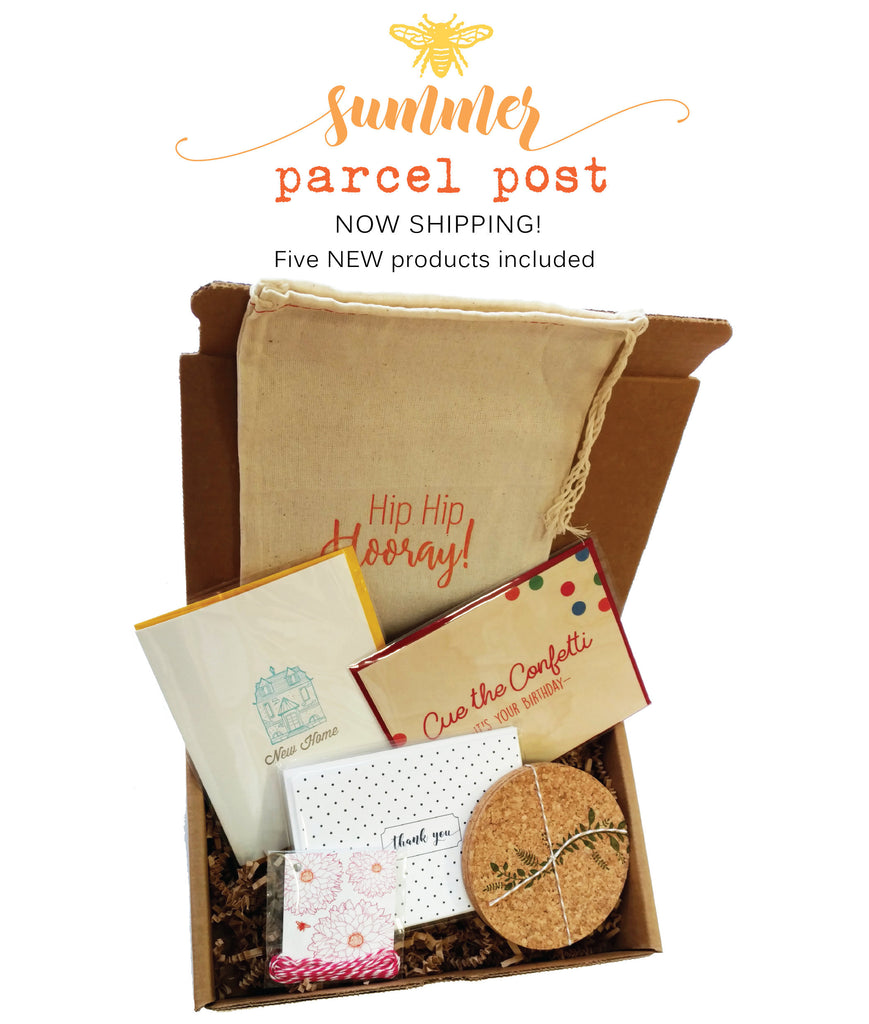 Idea Chic Summer Parcel Post Subscription Box
